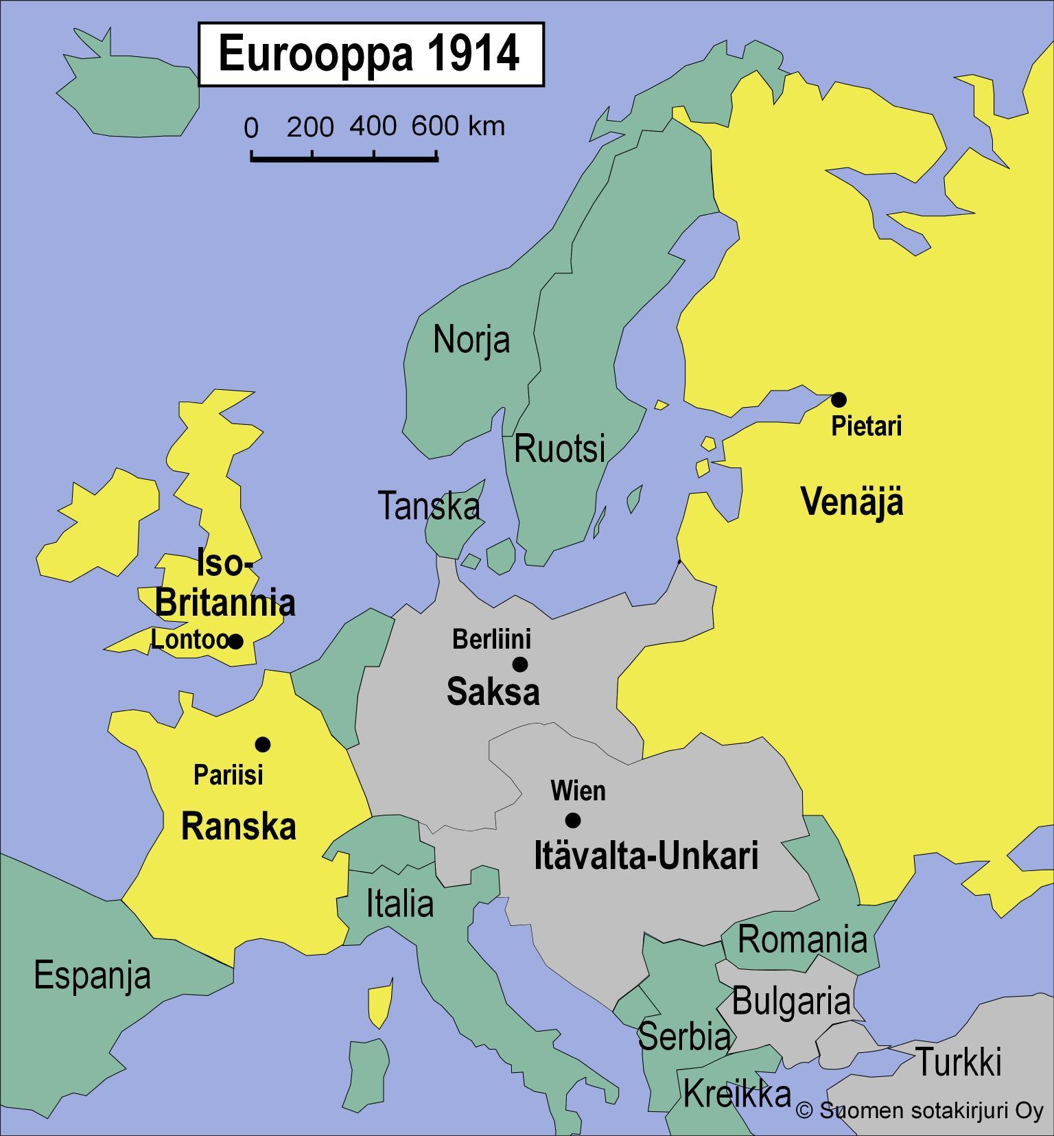 Eurooppa I Maailmansodan Jalkeen Talvisota