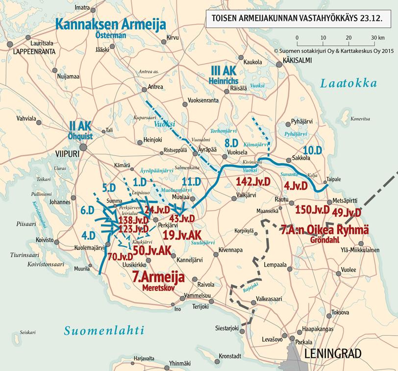 Joulukuun Torjuntataistelut 1939 Talvisota