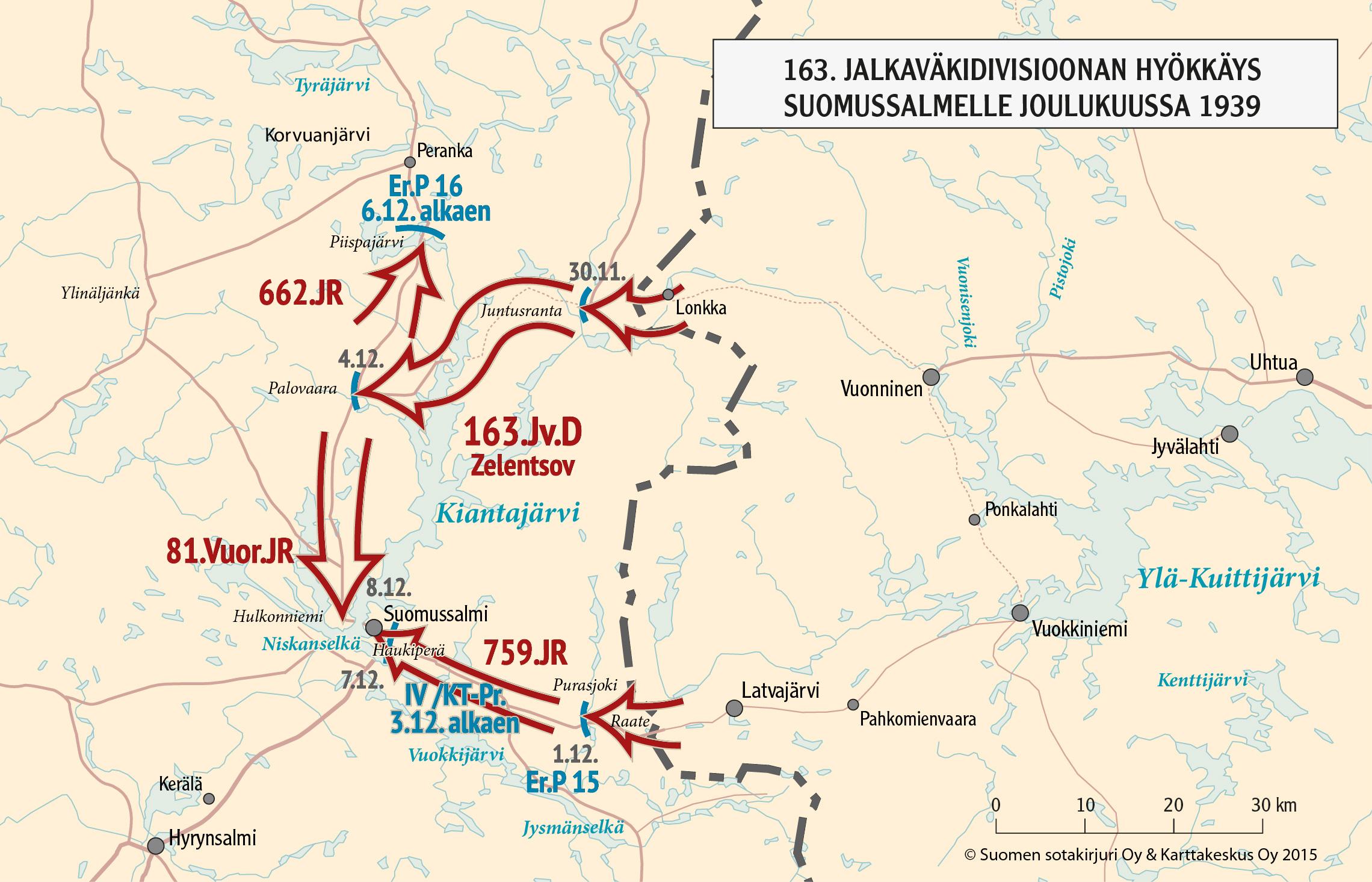 Suomussalmen Taistelut 1939 Talvisota
