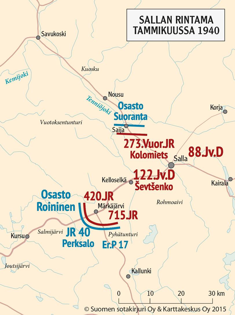 Joutsijärvi kartta